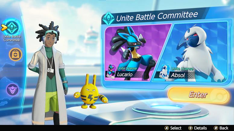 Pokémon Unite - Unite Battle Committee