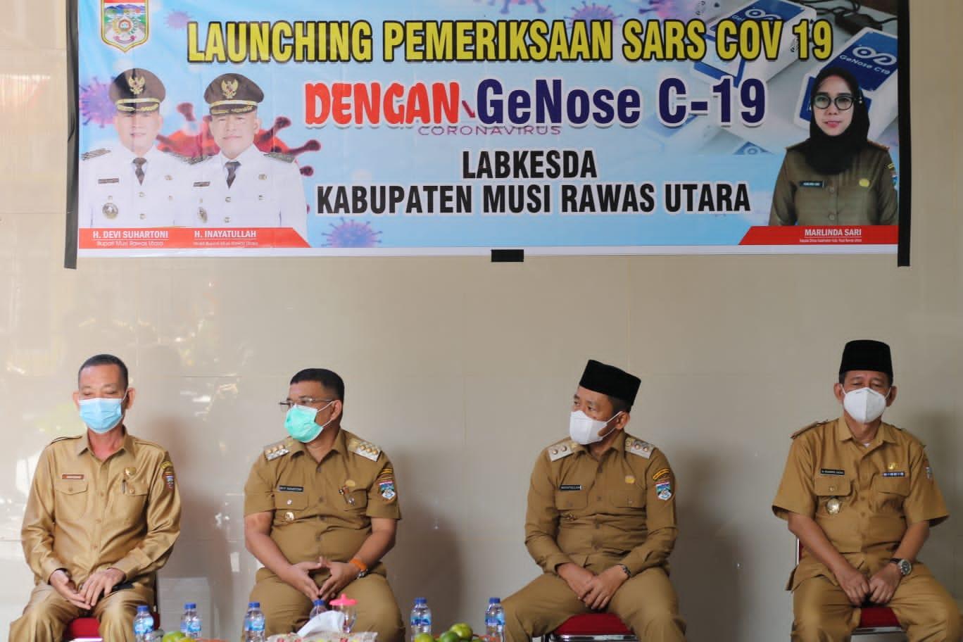 Muratara Launching Pemeriksaaan SARS COV 19 dengan GeNose