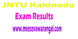 JNTU Kakinada M.Tech (R13/R09) 2nd Sem Regular / Supply Exam Results