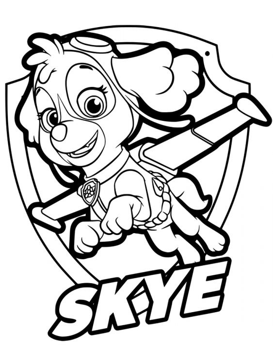 Paw patrol coloring pages 31