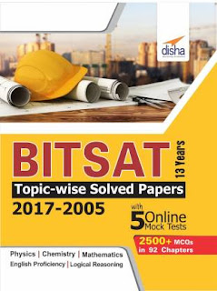 BITSAT Topic Wise Solved Papers(2017-2005)