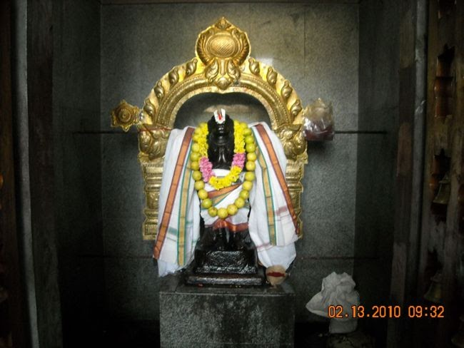 Lord Anjaneya At Sri Vanamutti Perumal Temple