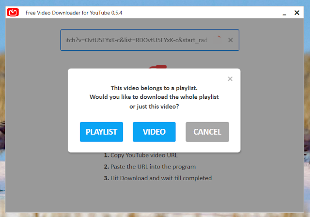 NotMP3 a free audio and video downloader for YouTube