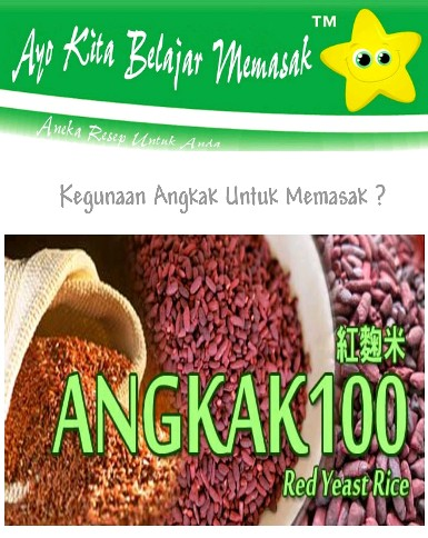Apa Itu Angkak ? What is Red Yeast Rice From China