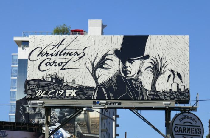 A Christmas Carol mini-series billboard