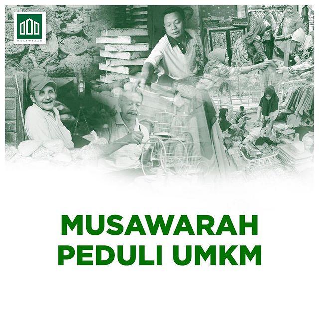 Poster Kajian Musawarah di Instagram