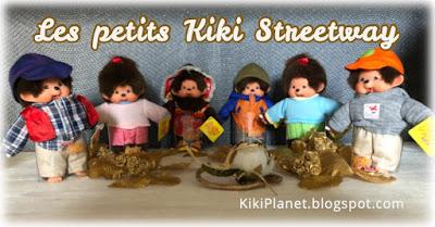 kiki monchhichi petit streetway cute rare collector