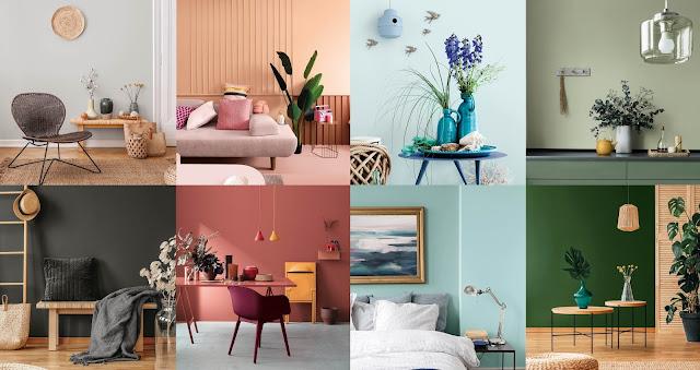 Tendencias y colores para tu hogar
