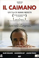 The publicity poster for Moretti's film Il Caimano