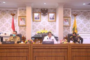 Pemprov Lampung Berkomitmen Jaga Perekonomian Masyarakat dari Pandemi Covid-19