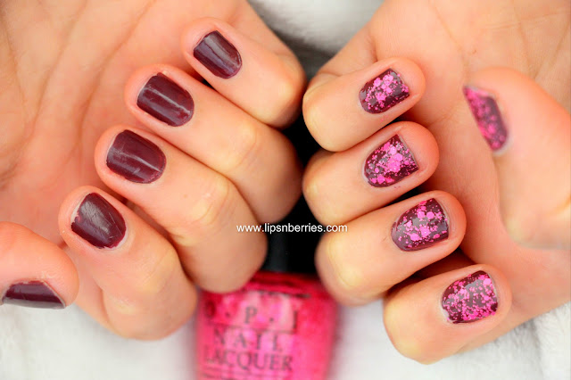 OPI pinks and needles nail paint