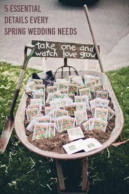 Spring wedding ideas-seeds-K'Mich Weddings-Philadelphia PA