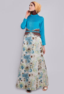 Model Long Dress Batik Paling Modis