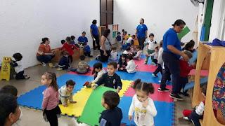Educação de Registro-SP participa das atividades da Semana Mundial do Brincar realizada pelo Sesc