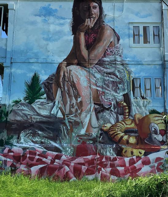 Mural in Canggu