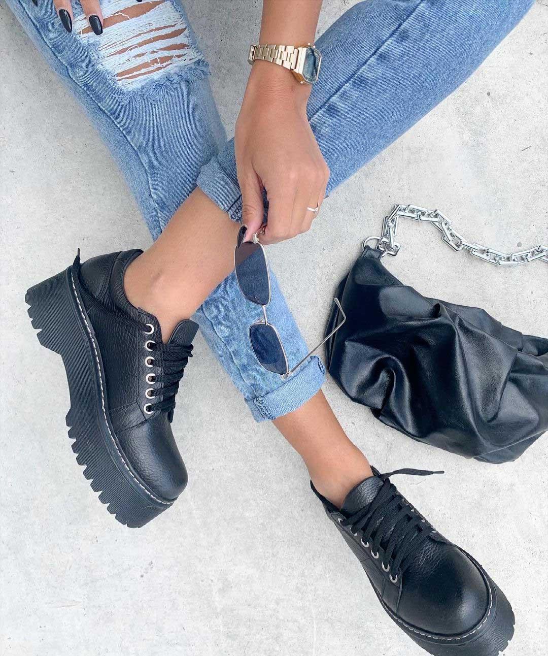 zapatos invierno 2021 moda mujer invierno 2021