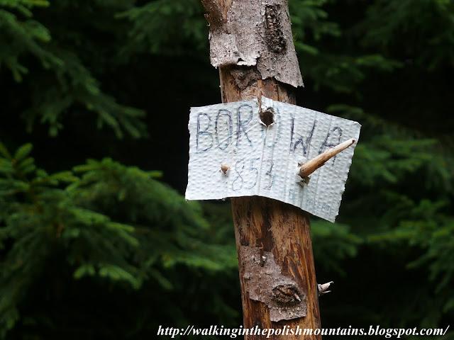 Borowa 853 m a.m.s.l.