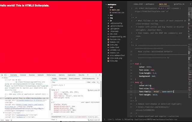 modifier et sauvegarder vos styles CSS en temps réel