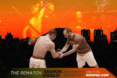 THE REMATCH – Nakamura vs DiGiulio – This Time It's For The Belt!