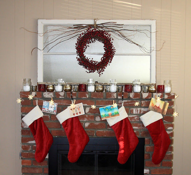 Our Christmas Mantel 2011