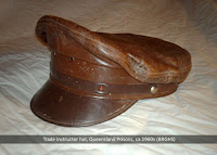 Trade instructor's hat as used at Boggo Road Gaol, Brisbane.