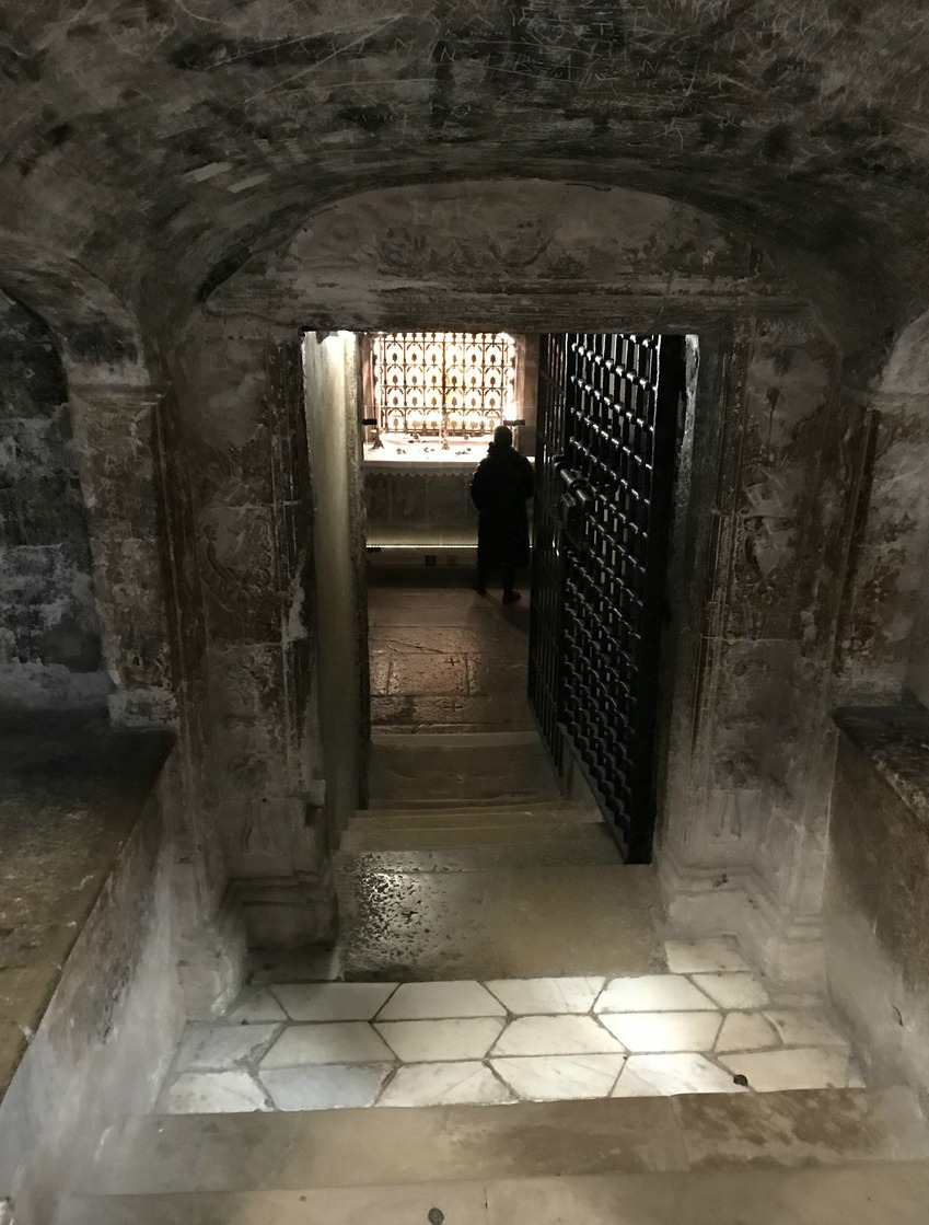 The crypt of Mary Magdalene St-Maximin