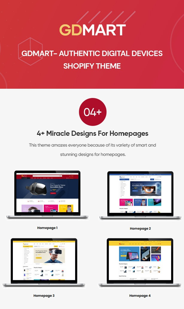 Digital Devices Shopify Theme