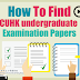 Library Resource: CUHK Examination Papers Database