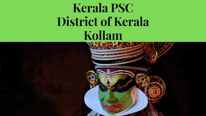 Kollam District Important PSC Questions