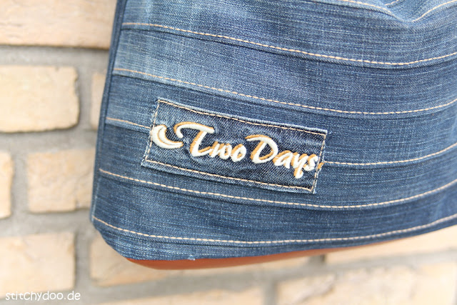stitchydoo: Upcycling-Tasche Chobe | Jeans-Recycling par excellence
