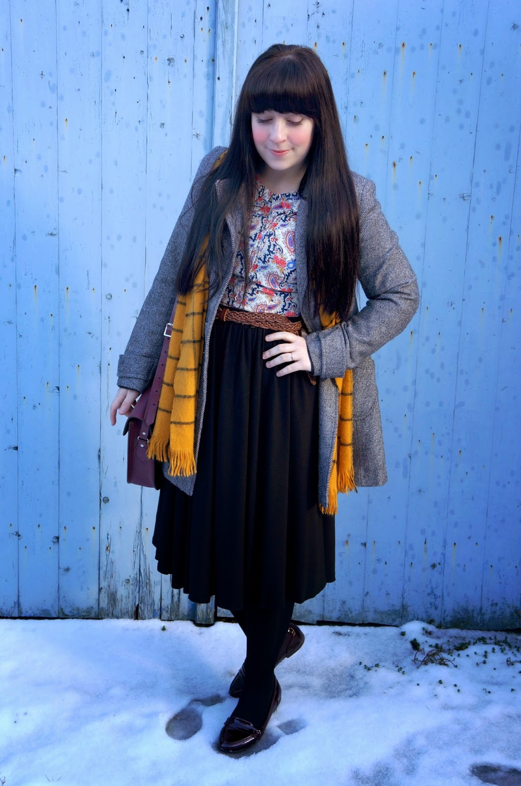 WHAT I THRIFTED #1 :: TWEED COAT