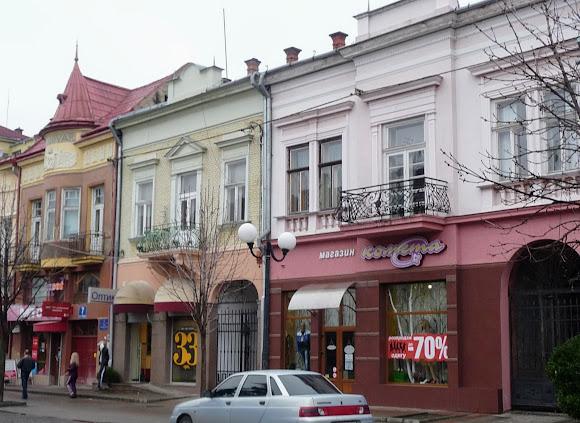 Мукачево. Площадь Кирилла и Мефодия