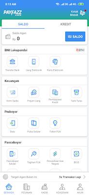 berhasil daftar dari aplikasi Payfazz