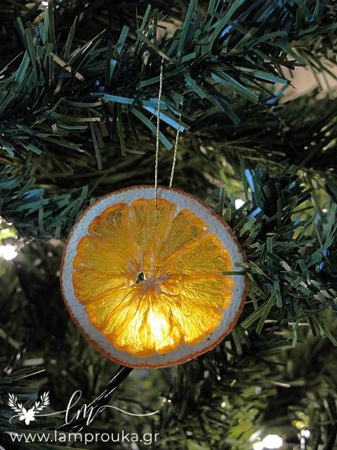 Οδηγίες για να αποξηράνεις πορτοκάλια.