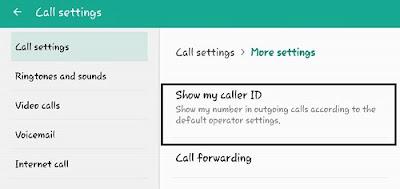 Pengaturan Menyembunyikan Nomor Telepone Samsung