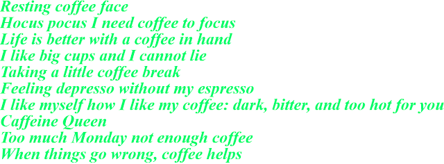 Instagram Captions For Coffee
