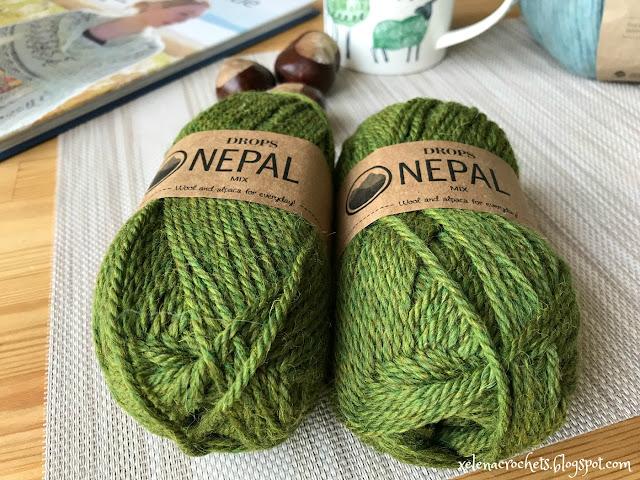 покупка пряжи в Мире Вышивки Drops Nepal