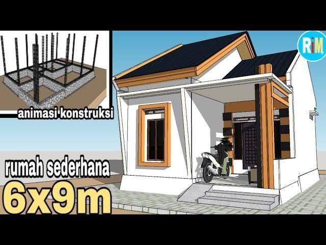 rumah minimalis ukuran 6x9