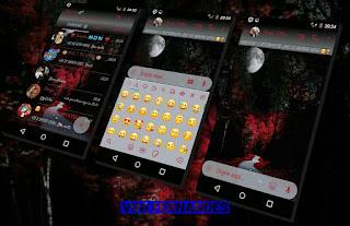 Full Moon Night Theme For YOWhatsApp & Fouad WhatsApp By Vinícius