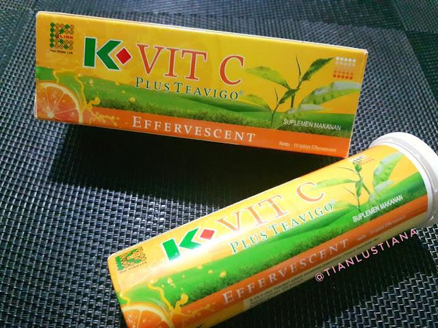 Menjaga Daya Tahan Tubuh Dengan Kombinasi Super Antioksidan Vitamin C Plus Teh Hijau