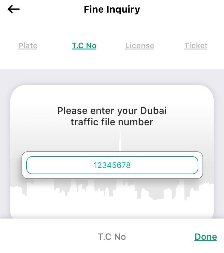 Check fines on Dubai Traffic file number, Dubai Traffic File Code