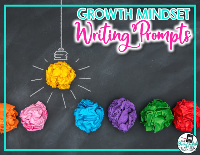 Free growth mindset journalism prompts for students