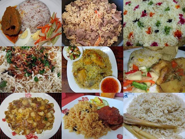 10 resepi nasi