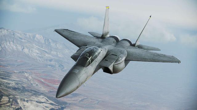 Gambar 09. Foto Pesawat Tempur F-15 Silent Eagle