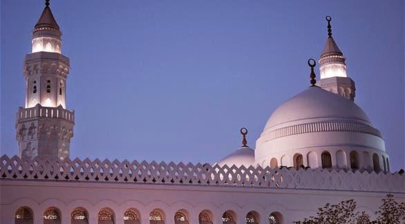 مسجد القبلتين  يقع فى الطرف الغربى من المدينة المنورة(صورة ارشيفية)