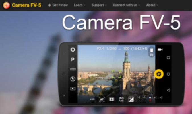 Rekomendasi Aplikasi Kamera Terbaik Di Android - Camera FV-5