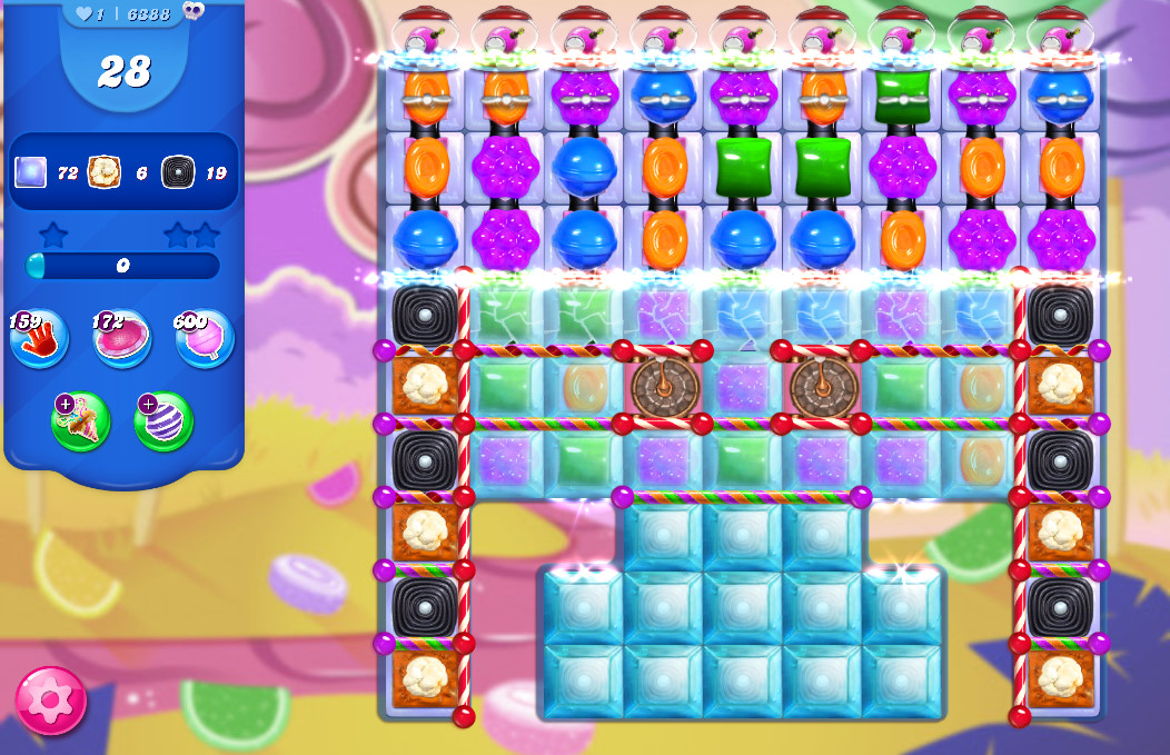 Candy Crush Saga level 6388