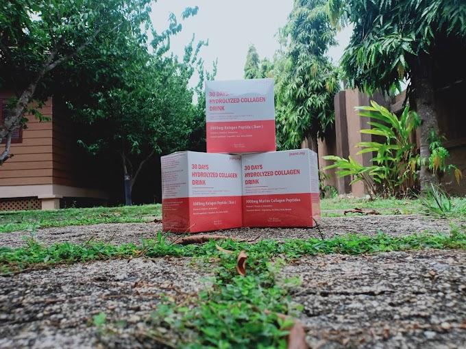 Cabaran 30 Hari Dengan Collagen Drink Malaysia