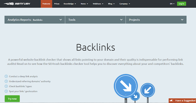 check for backlinks