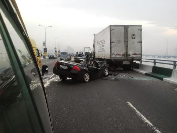 accident third mainland bridge today